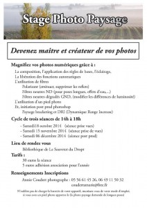 Flyer photo paysage