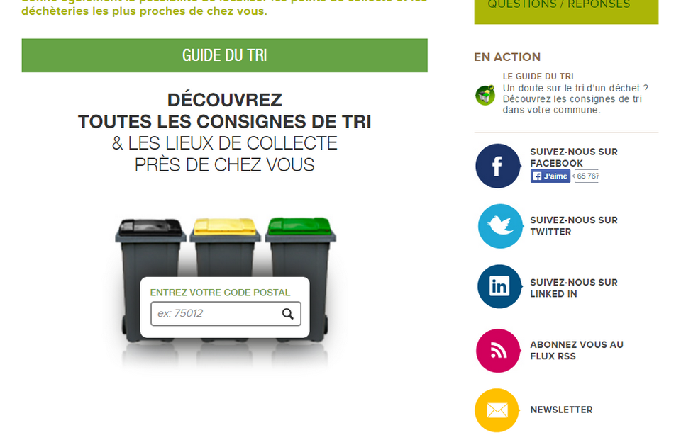 Le guide du tri   Eco Emballages