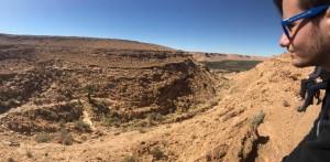 Benjamin et le désert