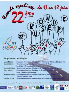 affiche ronde usep 2016