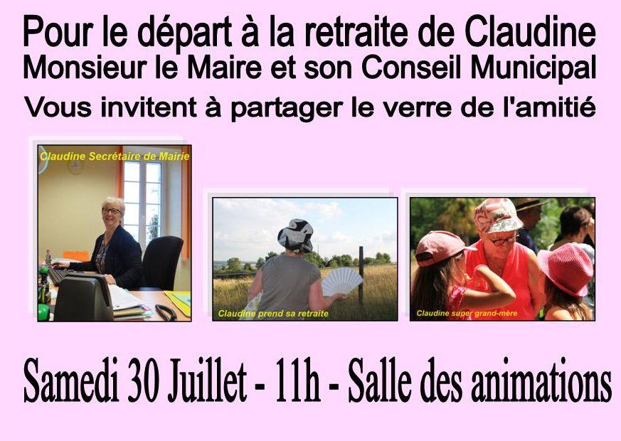 Claudine retraite