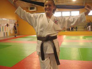 Judith championne departementale 1