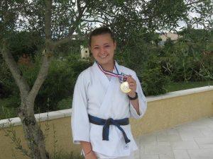 Judith championne departementale 2
