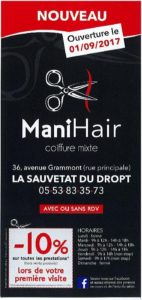 La sauvetat du dropt entre pays de lauzun et pays de duras en lot et garonne 47 - Ouverture salon de coiffure ...